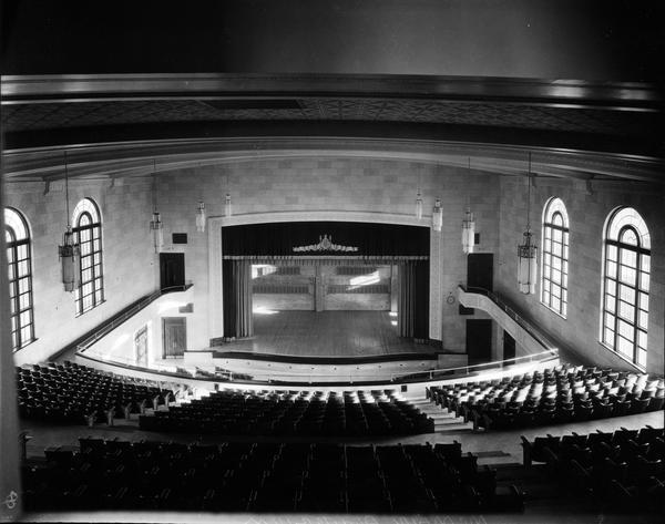 Eleanor McMain High School auditorium, 5400 South Claiborne