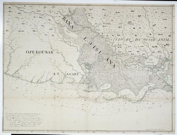 Maps from the Historic New Orleans Collection | Louisiana ... Inital Of Louisiana Purchase Map on