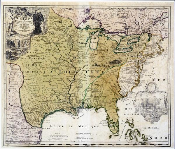Map Of America New Orleans.Maps From The Historic New Orleans Collection Louisiana