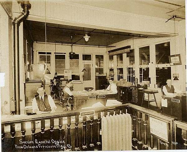 New Orleans Furniture Manufacturing Company Louisiana Digital Library