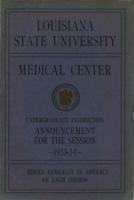 LSU Health Sciences Center New Orleans - Catalog and