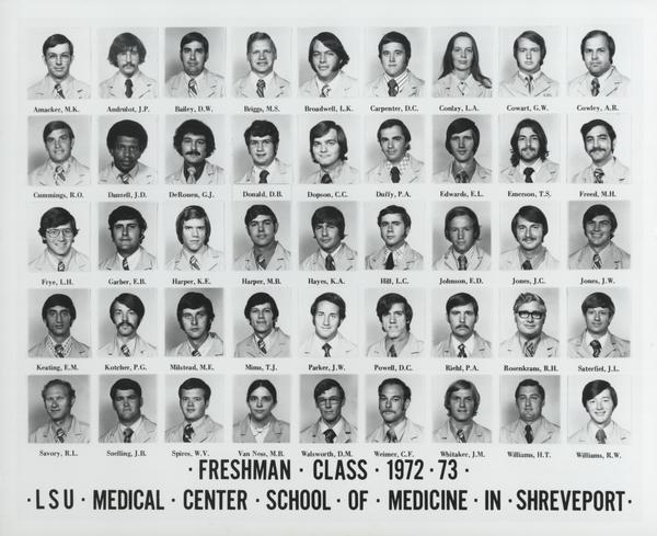 LSU Health Sciences Center Shreveport Alumni Collection