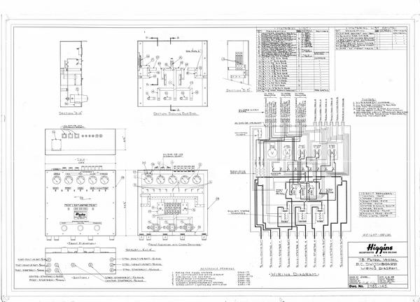 D C Switchboard Wiring Diagram Louisiana Digital Library