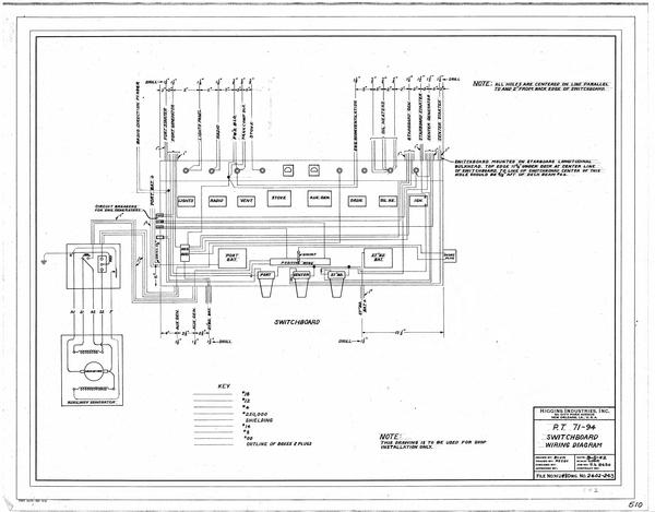 Switchboard Wiring Diagram Louisiana Digital Library
