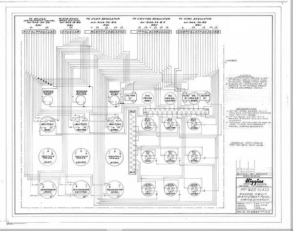 Engine room instrument panel wiring diagram   Louisiana Digital Library   Beautiful Engine Diagram      Louisiana Digital Library