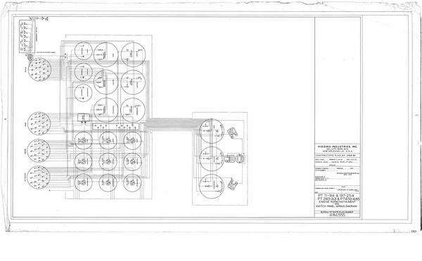 engine room instrument and switch panel wiring diagram
